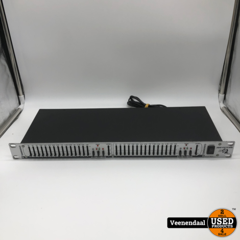 JB systems EQ 215 2x15 Band Equalizer - In Goede Staat