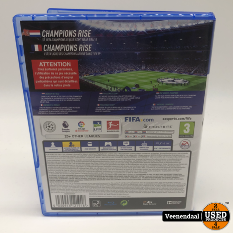 Fifa 19 PS4 Game - In Prima Staat