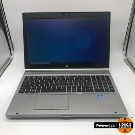 HP Elitebook 8560p i7 Laptop 120 SSD 8GB - In Goede Staat