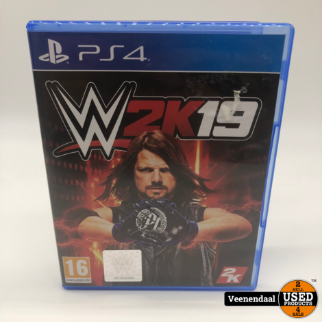 W2K19 PS4 Game - In Prima Staat