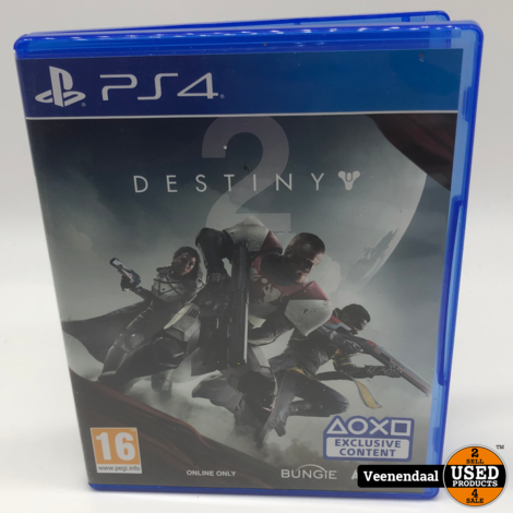 Destiny 2 PS4 Game - In Prima Staat