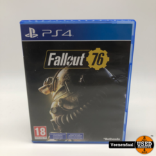 PS4 Fallout 76 PS4 Game - In Prima Staat