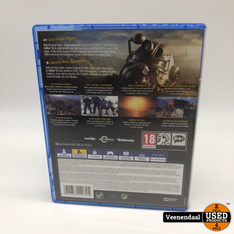 Fallout 76 PS4 Game - In Prima Staat