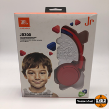 JBL JBL JR300 kids On-Ear Headphone Red  - Nieuw