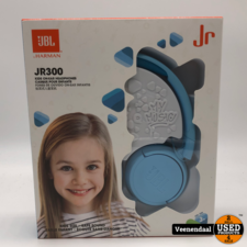 JBL JBL JR300 Kids On-Ear Headphone Ice Blue - Nieuw