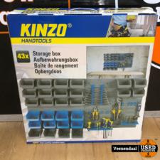 Kinzo Kinzo Gereedschapswand 43-Delig - Nieuw