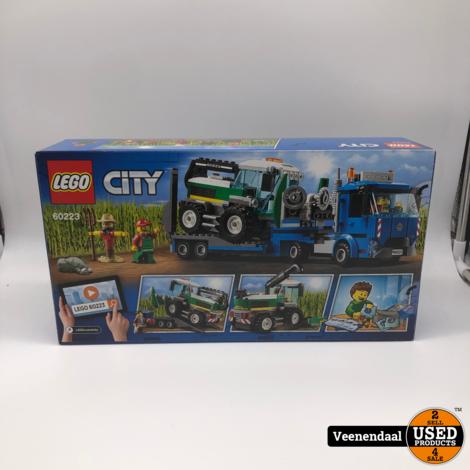 Lego Maaidorser Transport 60223 - Nieuw
