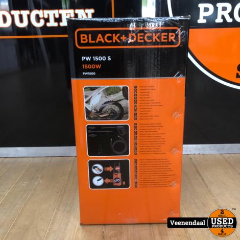 Black & Decker Hogedrukspuit 1500W - Nieuw
