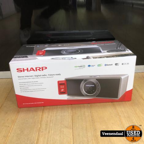 Sharp DR-I470(BK)PRO Stereo DAB+ Internet Radio - Nieuw