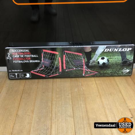 Dunlop Soccer Goal 78x56x45cm - Nieuw