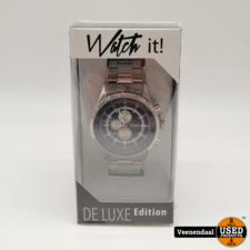 Watch It Watch It Deluxe Heren Horloge - Nieuw!