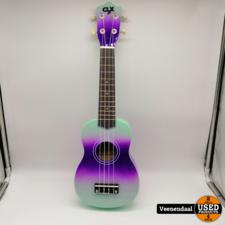 Ukulele Ukulele Mint + Purple - Nieuw!