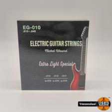 Electrische Gitaar Snaren AEG-010 - Extra Light - Nieuw