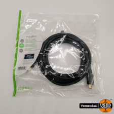Nedis Nedis High Speed HDMi Kabel met Ethernet 3 Meter - Nieuw!