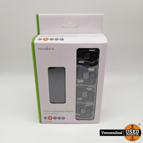 Nedis Notebook-Adapter Universeel 45 Watt- Nieuw!