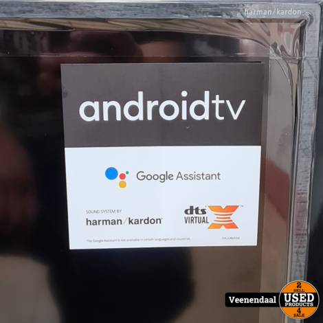 Sharp 50BL3EA 4K Ultra HD Android Smart TV Google Chromecast Ingebouwd - Nieuw