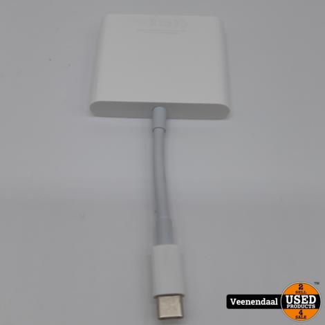 Apple USB-C Digital AV Multiport Adapter - In Nette Staat