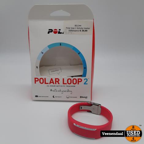 Polar loop 2 Activity tracker Pink - In Goede Staat