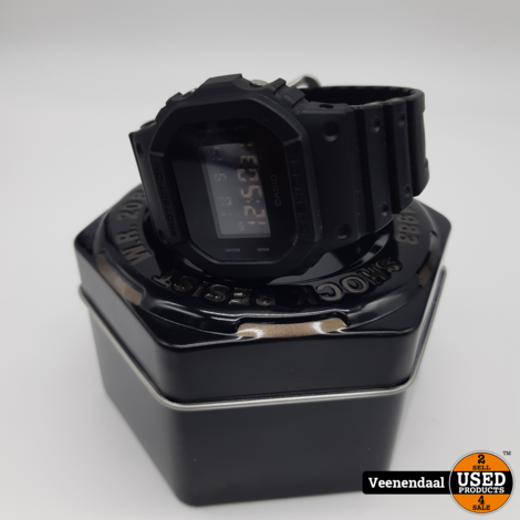 Casio G shock DW-5600BB Horloge - In Goede Staat