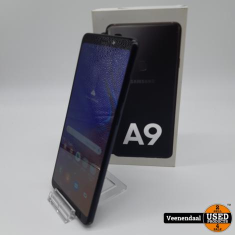 Samsung Galaxy A9 2018 128GB Caviar Black  Dualsim - In Goede Staat
