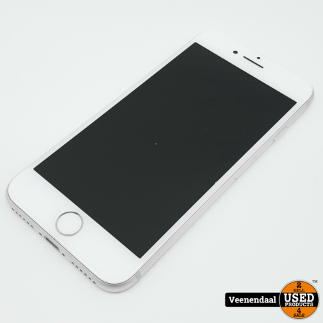 Apple iPhone 8 256GB Silver - Accu 88% - In Nette Staat