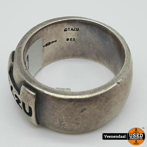Otazu Herenring Maat 22 Zilver 925 - In Goede Staat