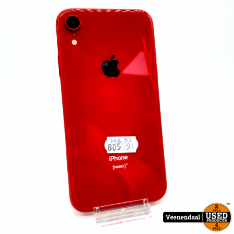 Apple iPhone XR 64GB Rood 92% - In Prima Staat