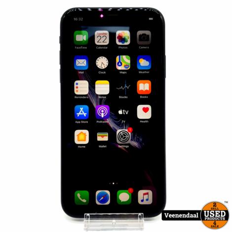 Apple iPhone XR Black 128GB - Accu 93% - In Nette Staat