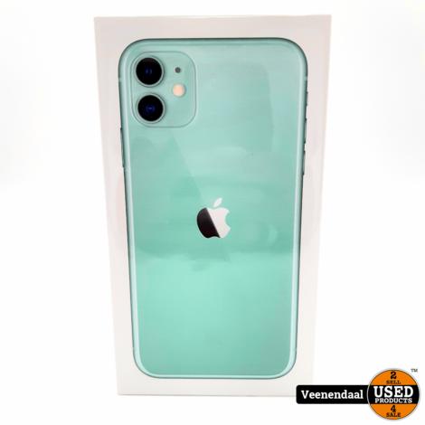 Apple iPhone 11 64GB Groen - Nieuw in Seal