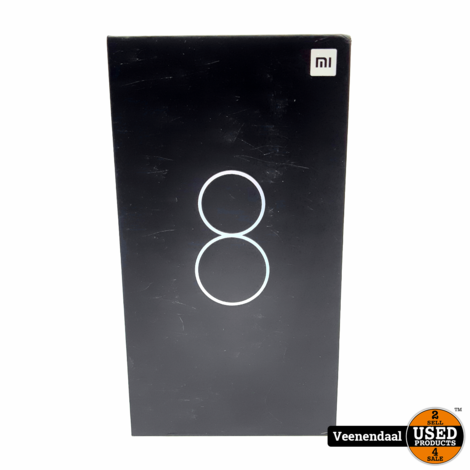 Xiaomi Mi 8 128 GB Zwart - Nieuw!