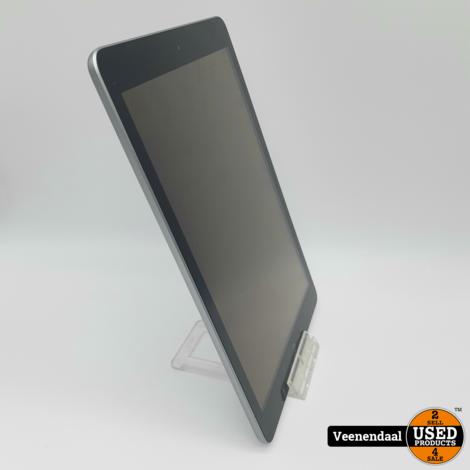 Apple iPad 6e Generatie 32GB Space Gray 9.7 Inch - In Nette Staat