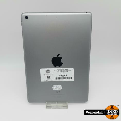 Apple iPad 6e Generatie 32GB Space Gray - In Nette Staat