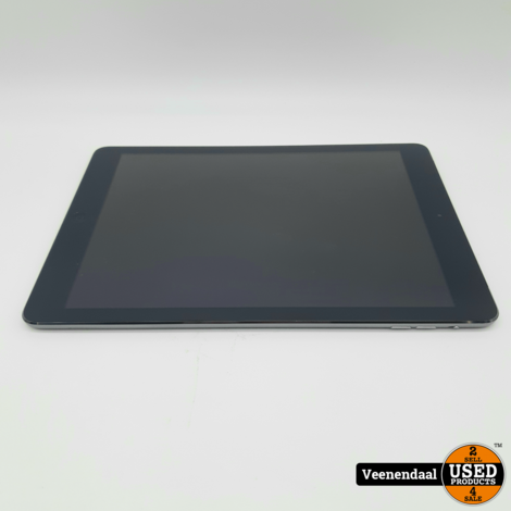 iPad Air 32GB Space Gray Wifi + 4G 9.7 Inch - In Prima Staat