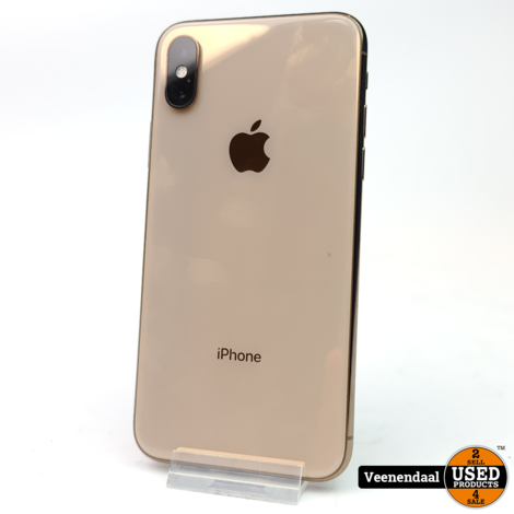 Apple iPhone XS 64GB Gold - Accu 86% - In Nette Staat