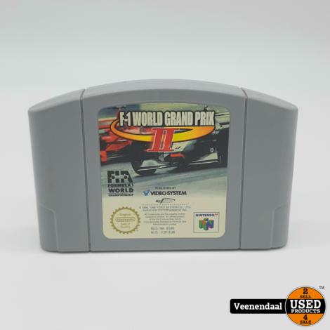 F-1 World Grand Prix 2 - Nintendo 64