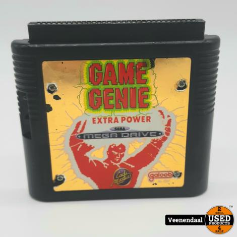 Mega Drive Game Genie Extra Power