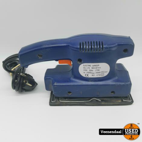 Perel ES-170 Schuurmachine 170 Watt - In Goede Staat
