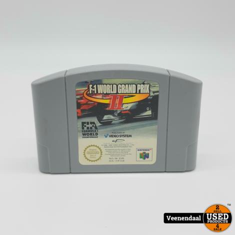 Nintendo 64 F1- world grand prix II