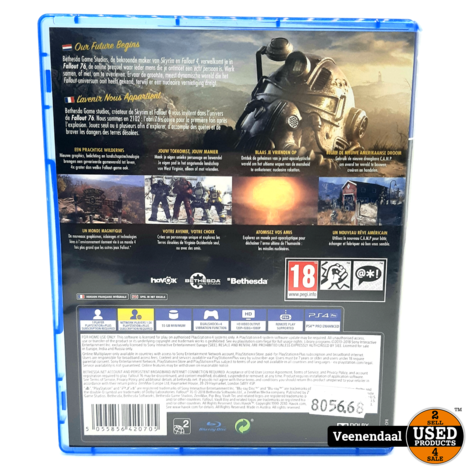 Fallout 76 - PS4 Game