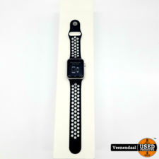 Apple Apple Watch 1 7000 Series 42mm Wit - In Goede Staat