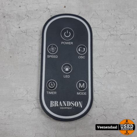 Brandson - Torenventilator - 10 Graden Kantelbaar - Nieuwstaat
