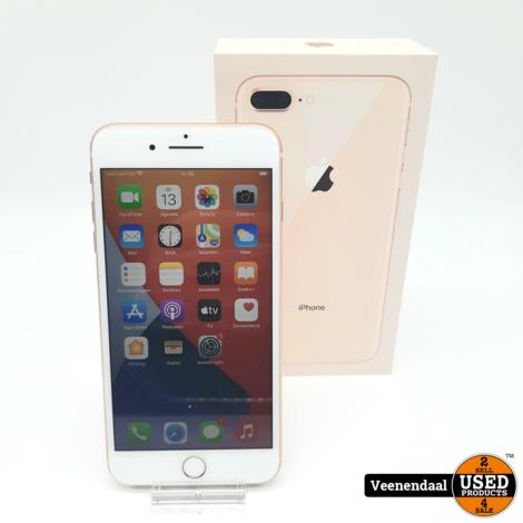 Apple iPhone 8 Plus 64GB Gold - Accu 97% - In Nette Staat