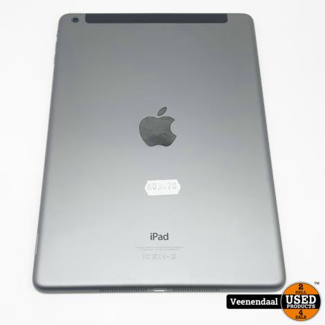 Apple iPad Air 32GB Space Gray Wi-Fi + 4G - In Prima Staat