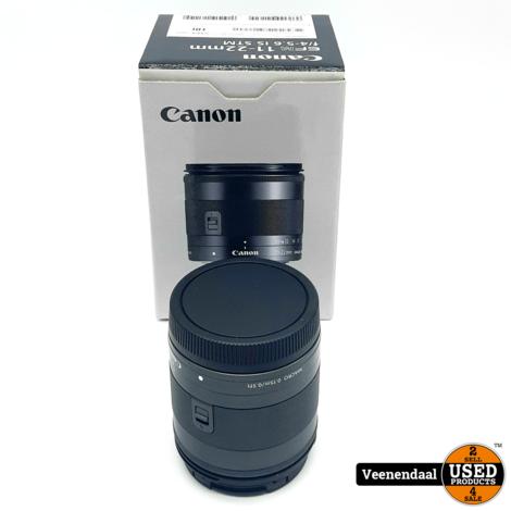 Canon EFM 11-22MM  F/4-5.6 IS STM Lens - Nieuw