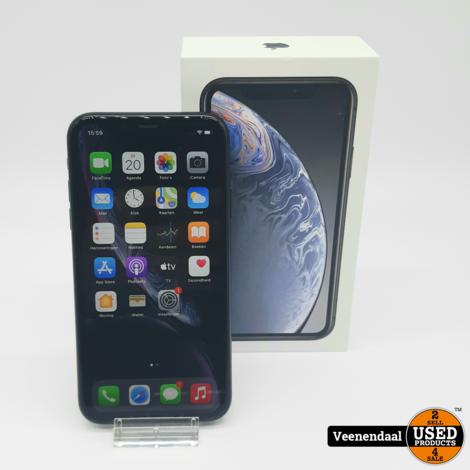 Apple iPhone XR 64GB Space Gray - In Goede Staat - Incl Doos