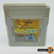 Nintendo Pokemon Gold Silver 2 in 1 - Nintendo Gameboy