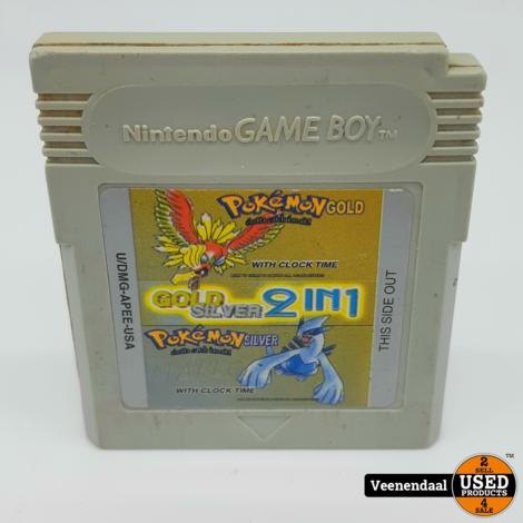 Pokemon Gold Silver 2 in 1 - Nintendo Gameboy