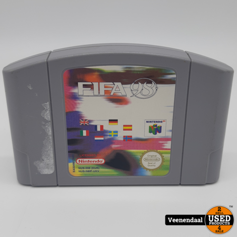 FIFA 98: Road To World Cup - Nintendo 64