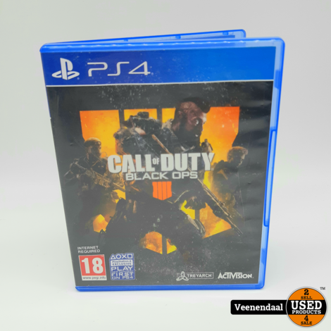 Call of Duty Black Ops 4 - Sony PS4 Game