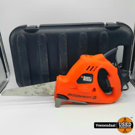 Black & Decker KS890E Elektrische Handzaag - In Goede Staat